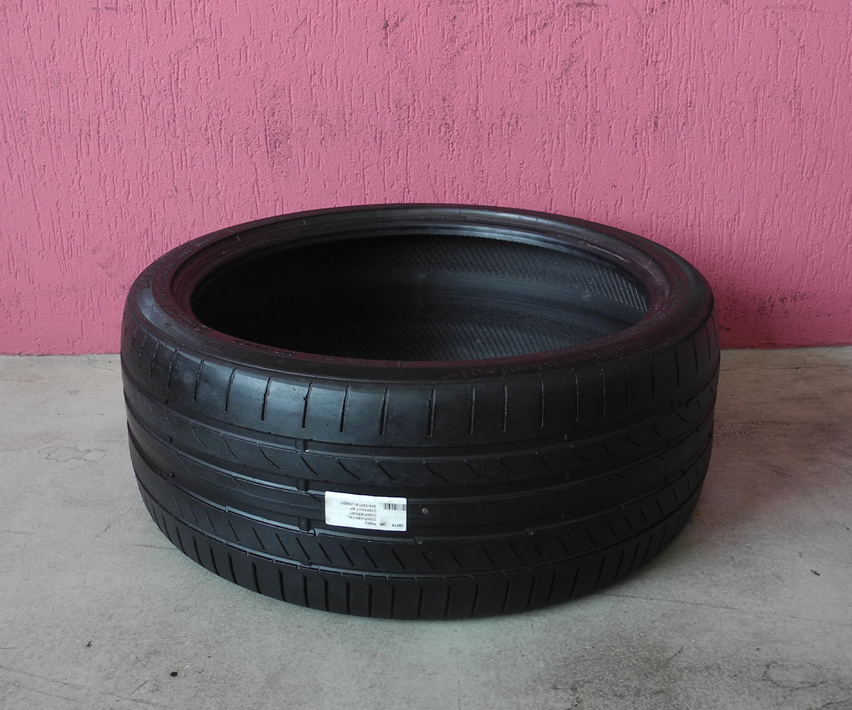 Pneu Continental Contisport Contact 5p 245/35r19 Usado