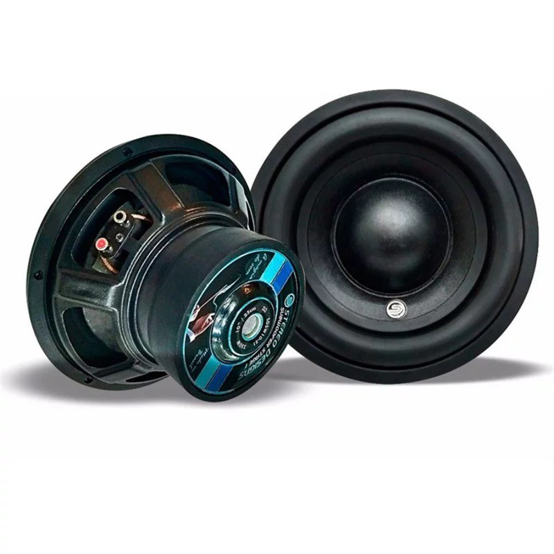 "SUB-WOOFER STEREO DESIGNS 8"" SDSW8 S1 350W RMS 4OHMS"