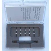 Filtro de cera para aparelhos auditivos intra branco