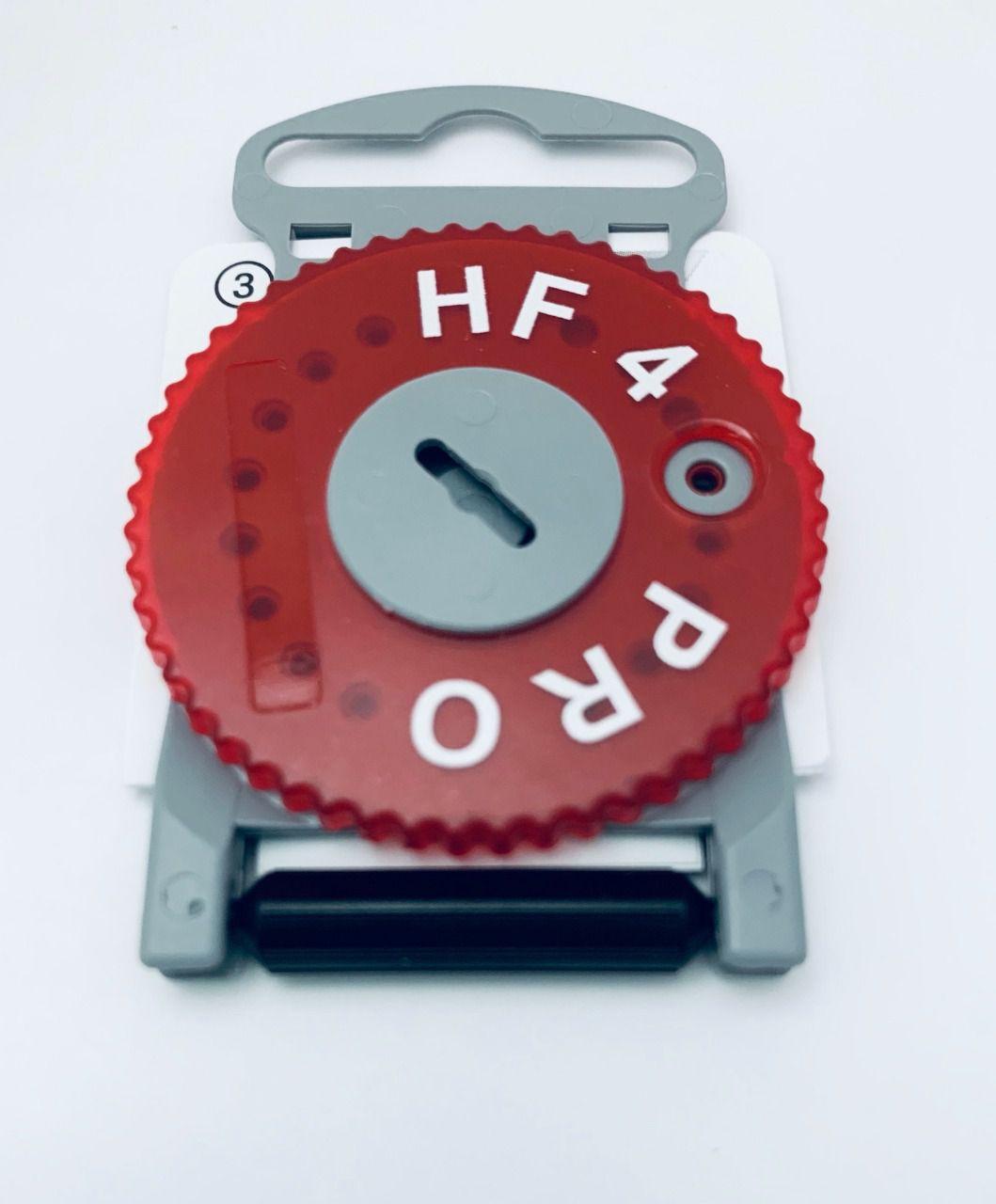 Filtro de cera para aparelhos auditivos intra e micro moldes mod.hf4