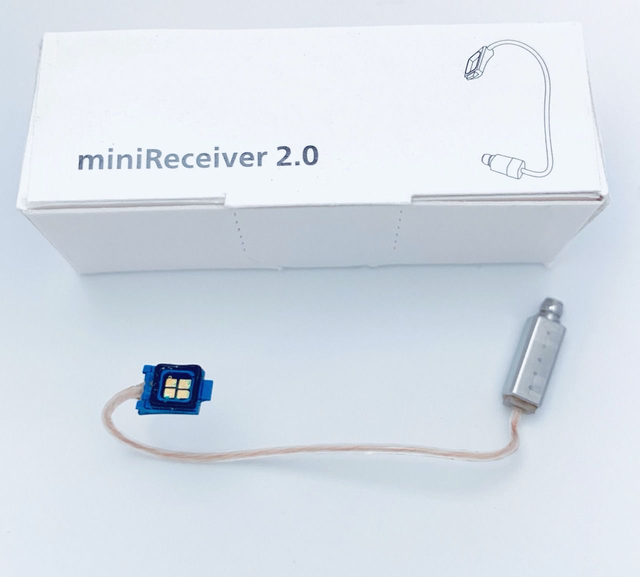 Receptor 2.0 para aparelhos auditivos (RIC)
