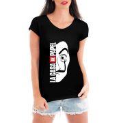 Camiseta Feminina La Casa De Papel