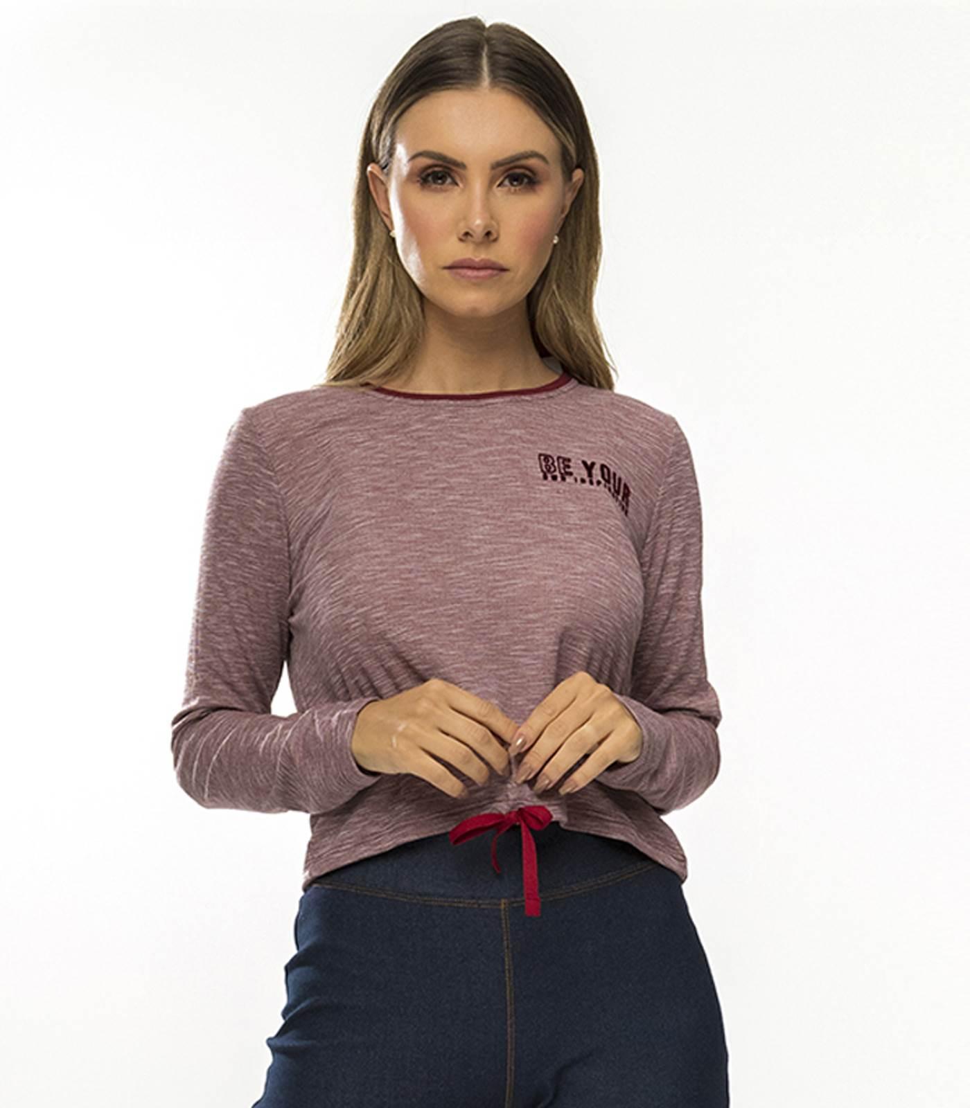 Blusão Feminino com detalhe