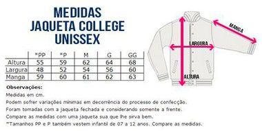 Jaqueta College Masculina Lisa