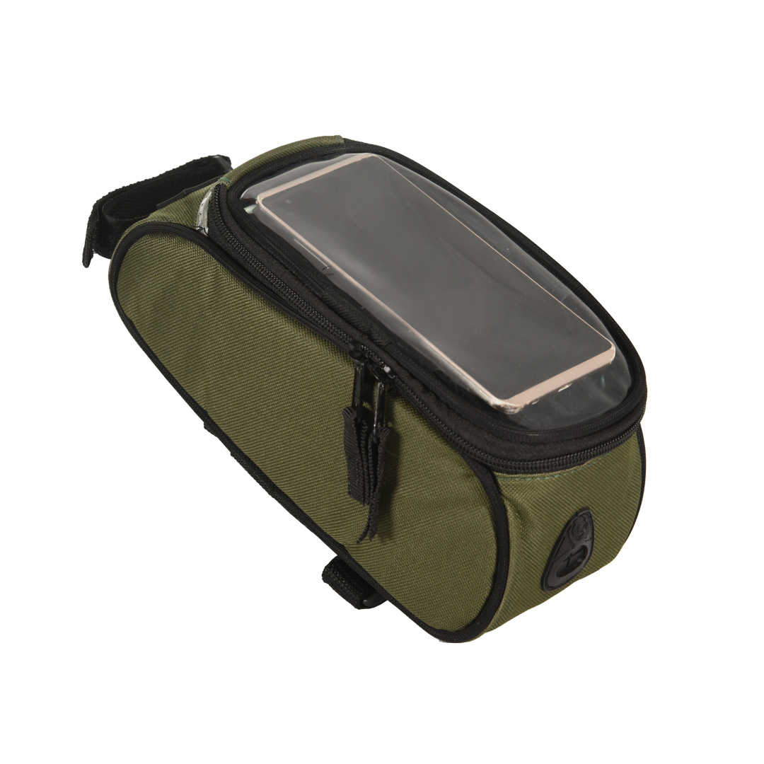 Bolsa de Quadro FitSanté com porta Celular Green