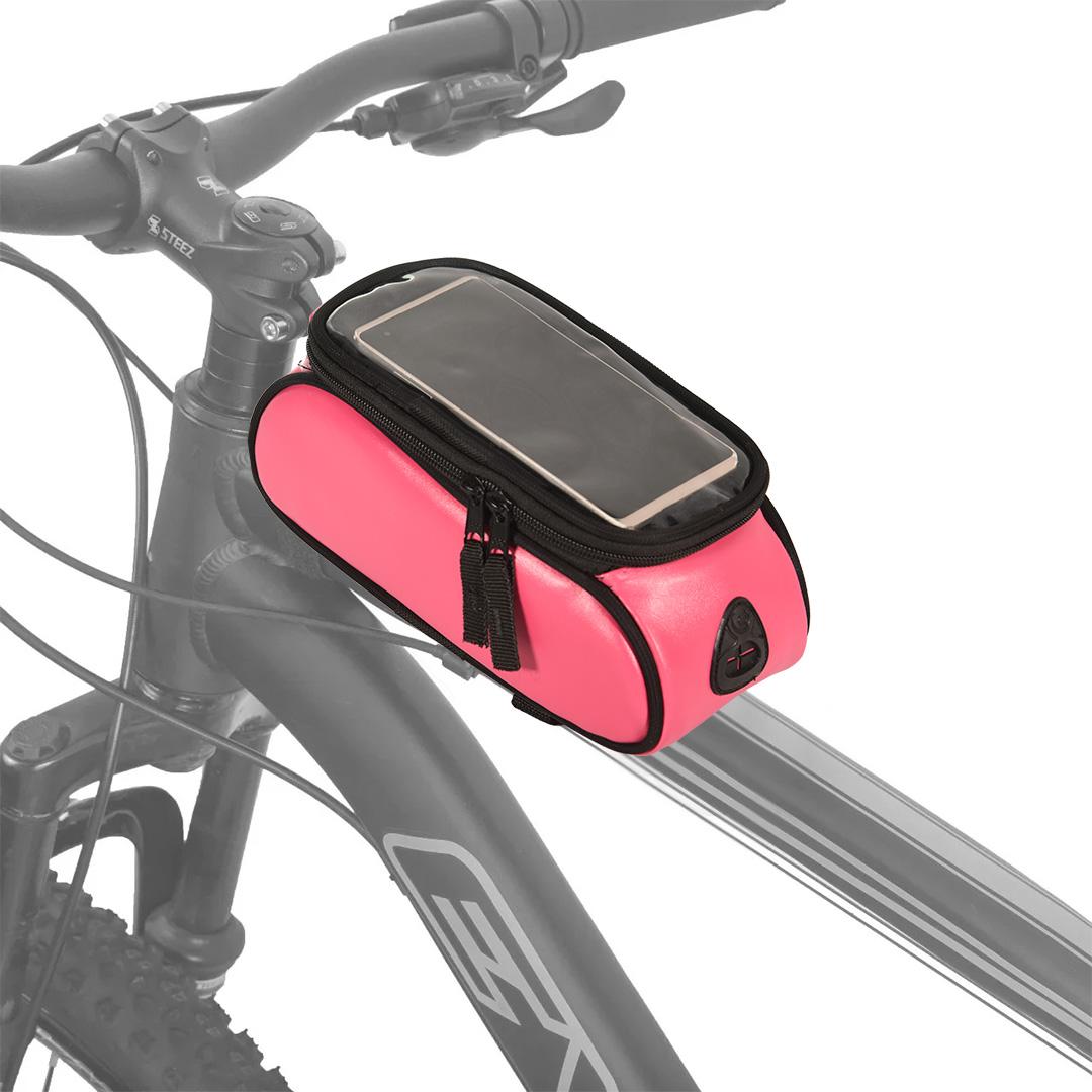 Bolsa de Quadro FitSanté com porta Celular Pink
