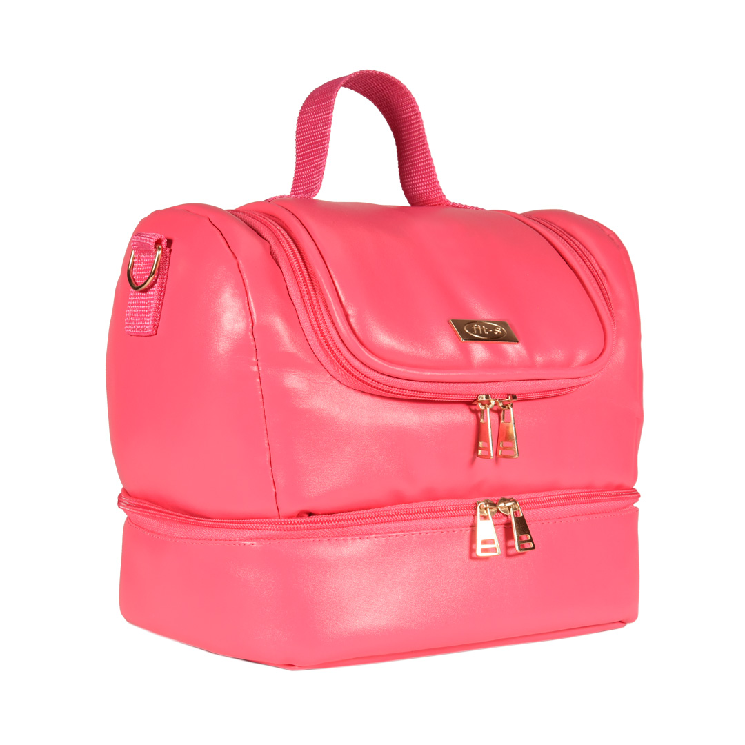 Bolsa Térmica FitSanté Double Bag Classic Pink