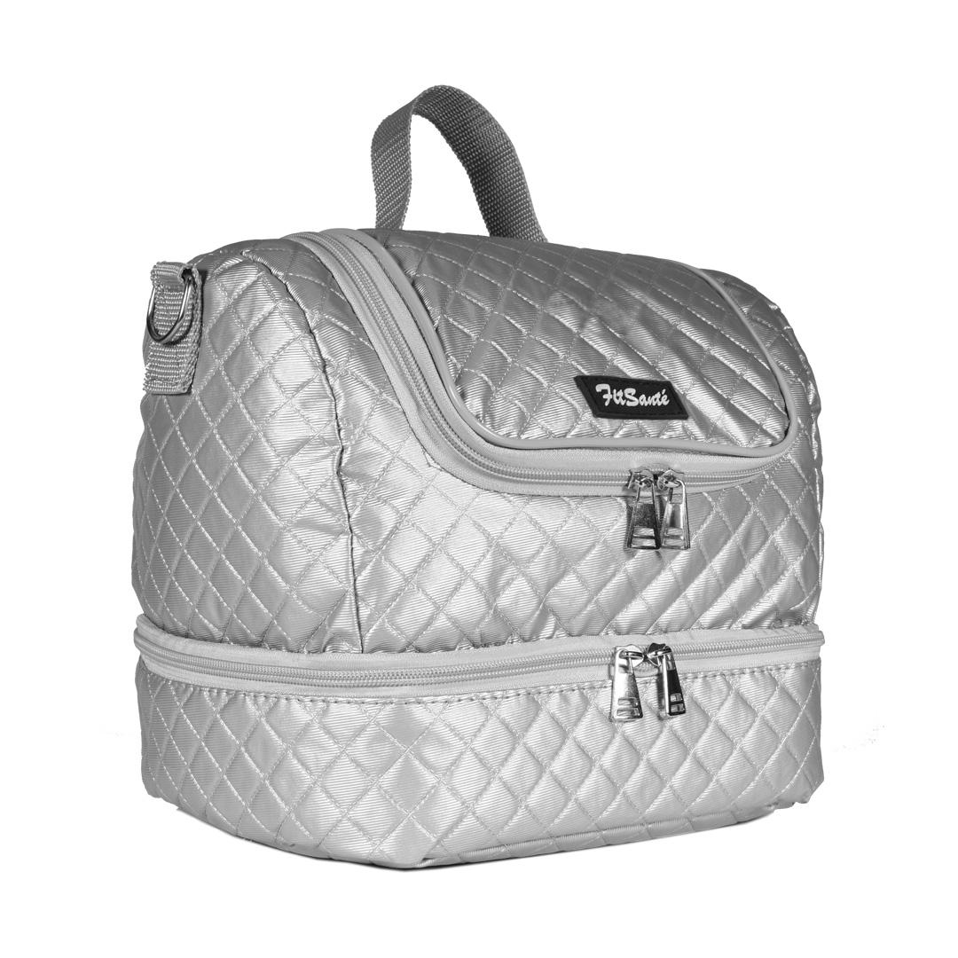 Bolsa Térmica FitSanté Double Bag Classic Silver