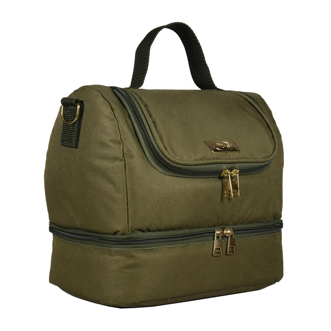 Bolsa Térmica FitSanté Double Bag Essencial Green