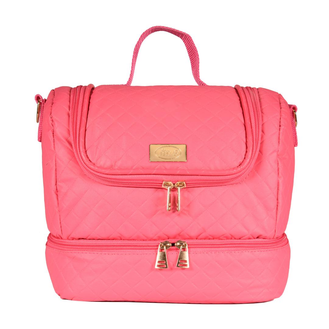 Bolsa Térmica FitSanté Double Bag Essencial Pink Draded