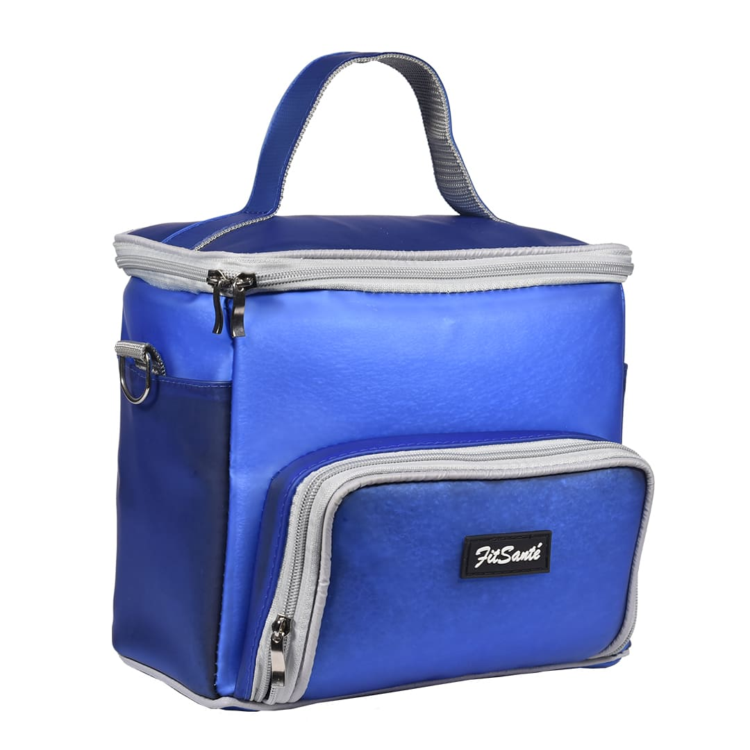 Bolsa Térmica FitSanté Karbo II Classic Blue