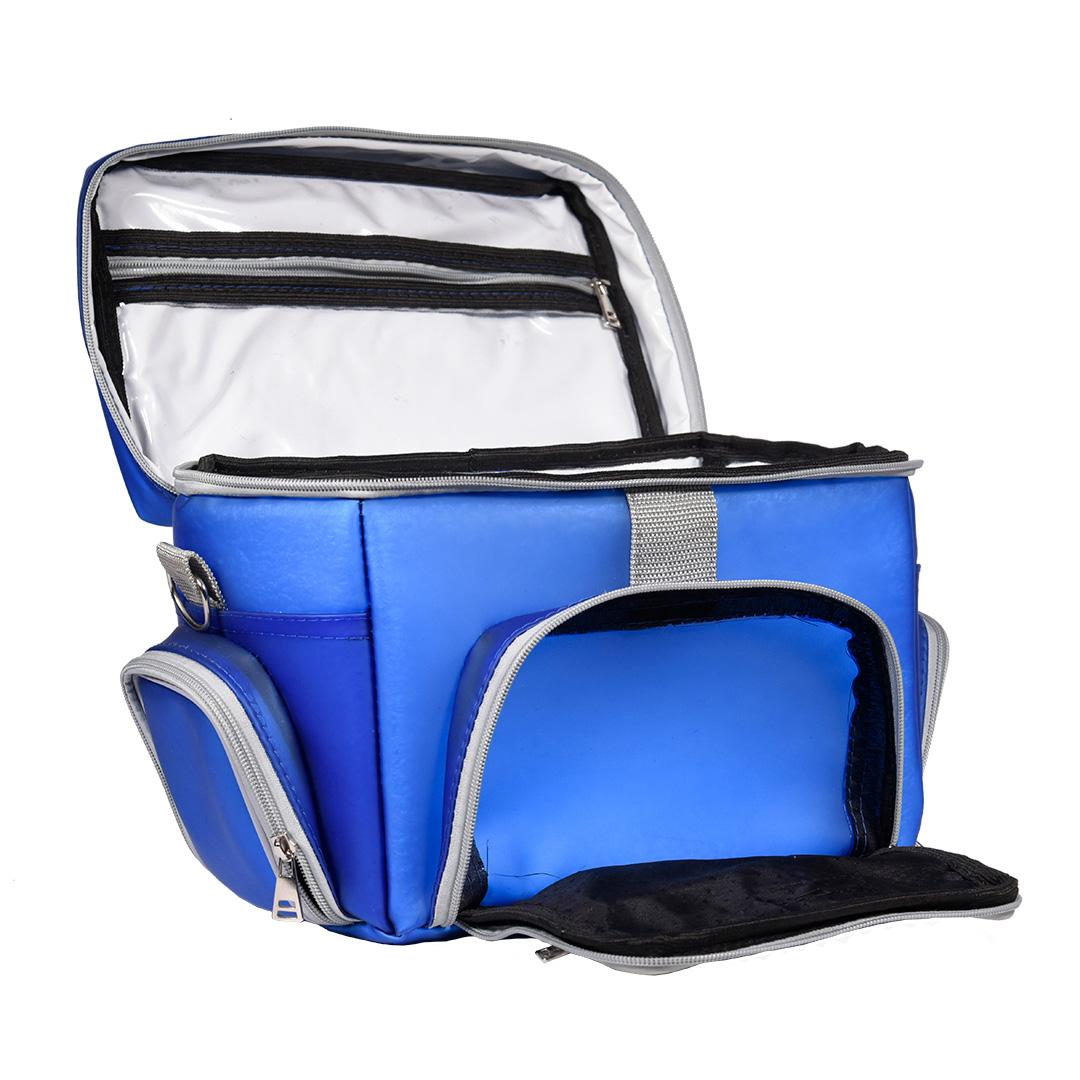 Bolsa Térmica FitSanté Lunch Now Colors Blue