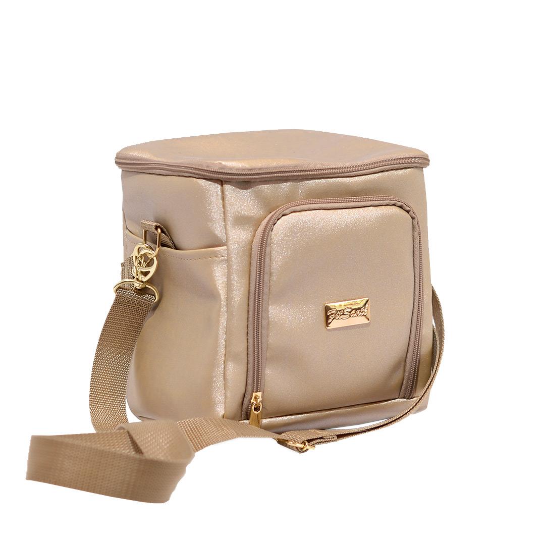 Bolsa Térmica FitSanté Classic Gold Gliter