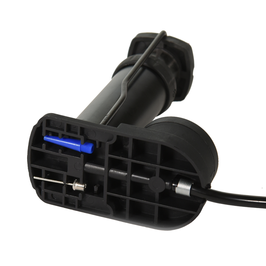 Mini Bomba de pé FitSanté Foot Pump com manômetro