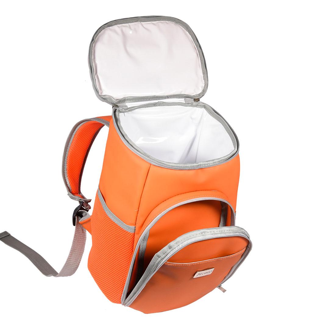 Mochila Térmica FitSanté Cooler Bag Colors Orange