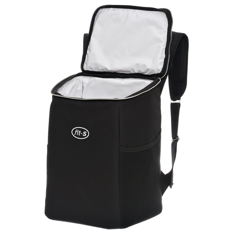 Mochila Térmica FitSanté Cooler Bag Essencial Dark 22l