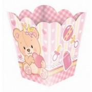Cachepot Ursinha Princesa Baby