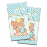 Sacolinha Plástica Surpresa Ursinho Príncipe Baby