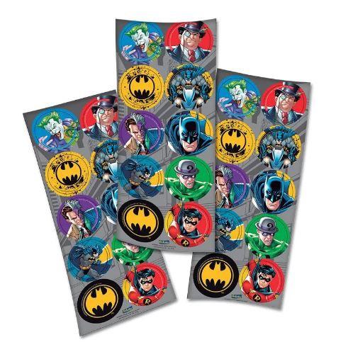 Adesivo 30 Unidades - Batman - Festcolor