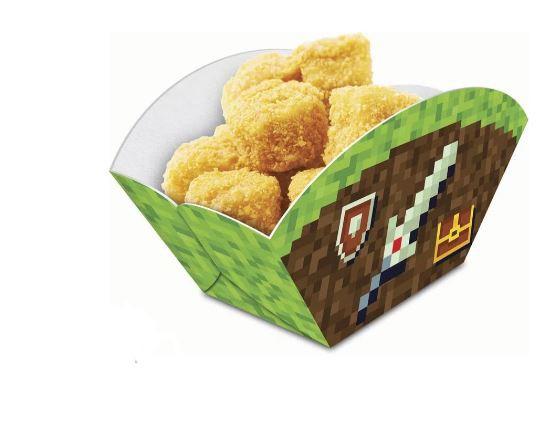 Caixa Petisco Minecraft Junco 08 unidades