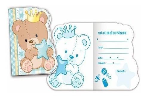 Convite Ursinho Principe Baby