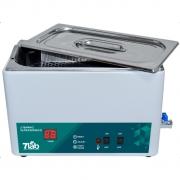 Banho de Ultrassom / Lavadora ultrassônica com aquecimento 7Lab a 35°C - 20L - com timer  220v