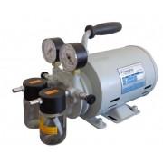 Bomba de vácuo com compressor Prismatec 131 2VC - Lubrificada a óleo - 38 l/min - 695 mmHg