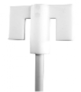 Hélice para agitador IKA R 1332 em teflon tipo Âncora