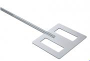 Hélice para agitador IKA R 2311 tipo espátula com 150 mm de diâmetro