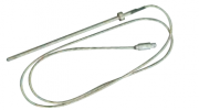 Sensor de temperatura IKA PT 100.5 com conexão Lemo