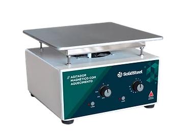 Agitador Magnético COM Aquecimento 7Lab Analógico - 10L - 220v