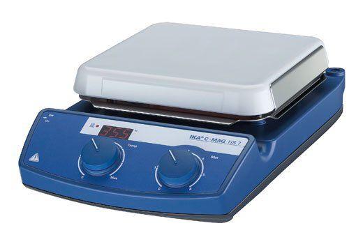 Agitador Magnético com Aquecimento IKA C-MAG HS7 - 10 Litros - 500 ºC