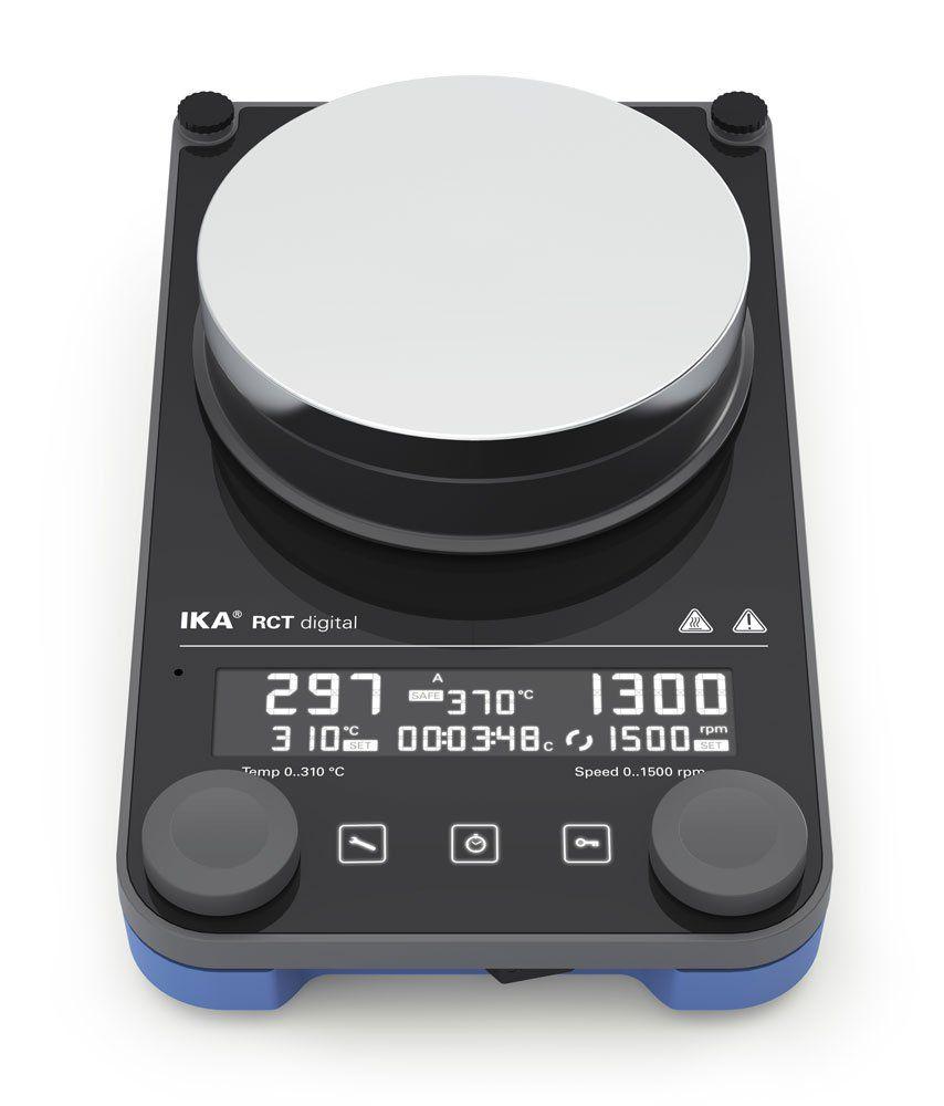 Agitador magnético com aquecimento IKA RCT Digital IKA PLate - 20 L e 310 ºC