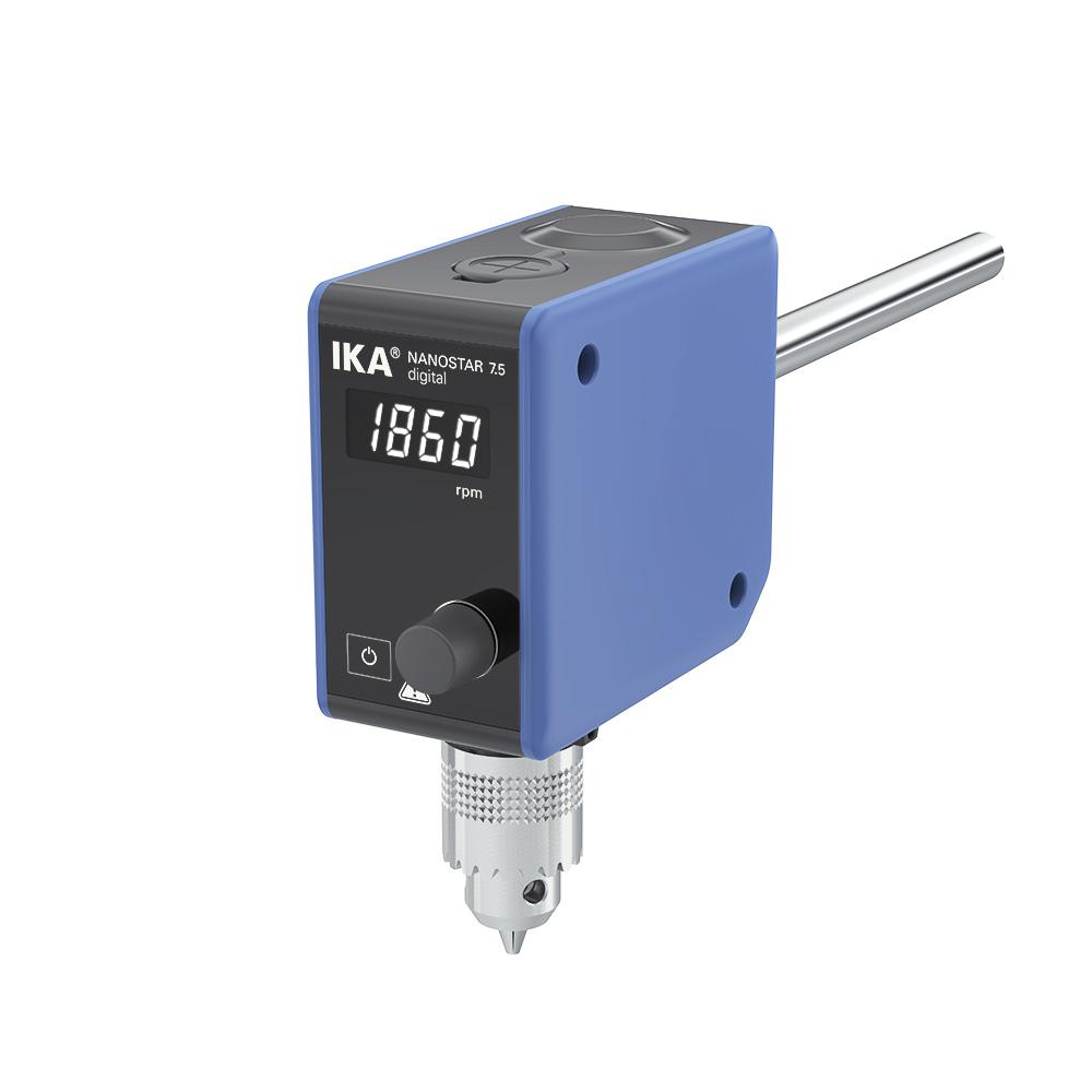 Agitador mecânico de hélice IKA Nanostar 7.5 Digital -  5 L
