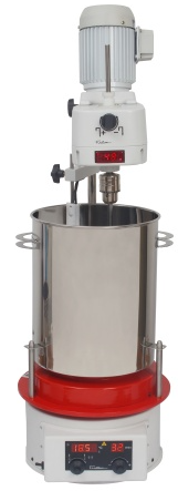 Agitador Mecânico Planetário COM Aquecimento para Creme Fisatom 450-4GA + 723
