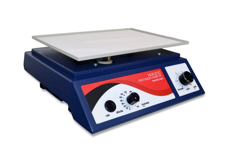 Agitador VDRL Kline analógico com plataforma e timer Astra KLA-210  210 rpm