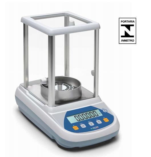Balança Semi-micro Analítica Bel HPBG2285-ion (5 casas) - 0,01mg com IONIZADOR, Calibração Interna e Display Gráfico