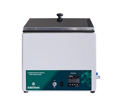 Banho Maria Digital com Circulação Interna 7Lab Microprocessado até 100°C - 15L