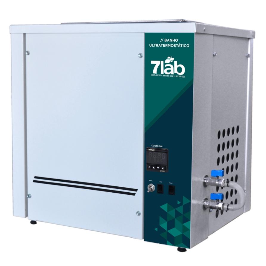 Banho Termostático 7Lab de -10 a +100ºC - 20 L