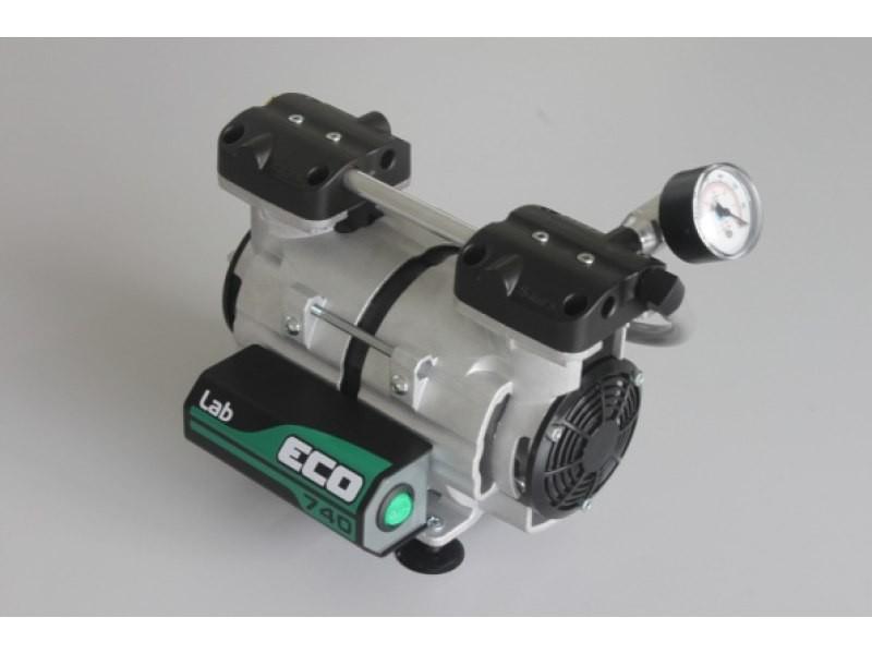 Bomba de vácuo BIOMEC ECO-740 LAB/Q - Isenta de óleo, com resistência Química e reguladora de vácuo - 24 lpm - 740 mmHg