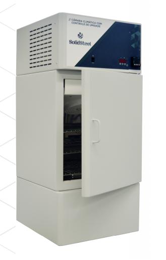 Câmara Climática (Controle de Temperatura e Umidade) 7Lab - 85 Litros – 220v