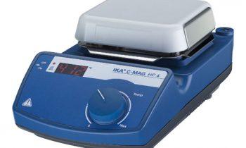 Chapa aquecedora IKA C-MAG HP 4 - 100 x 100 mm até 500 ºC