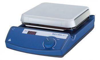 Chapa aquecedora IKA C-MAG HP 7 - 180 x 180 mm até 500 ºC