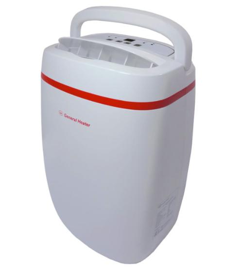 Desumidificador de Ar Ambiente 20 L/dia General Heater GHD-2000 - 300 m3 - INMETRO