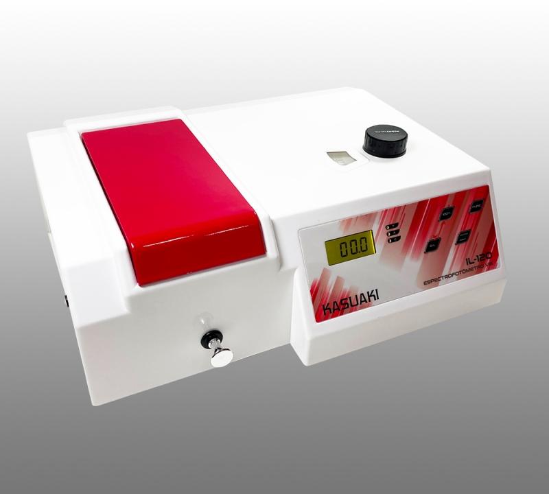 Espectrofotômetro Digital com Faixa Visível de 330 a 1020 nm Kasuaki IL-120