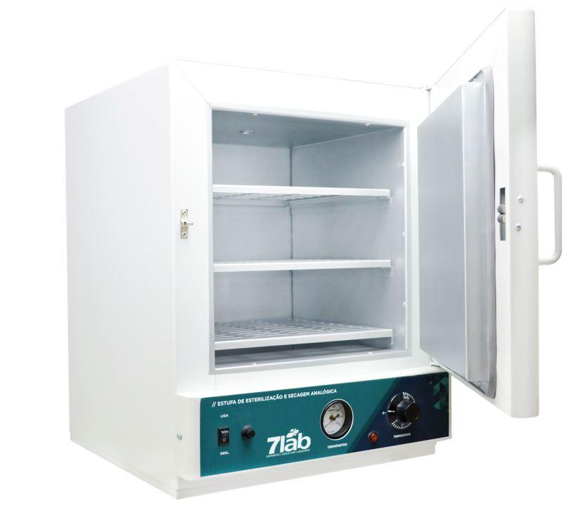 Estufa de secagem e esterilização 7Lab Analógica - 50 a 250ºC - 110 L (Bivolt)