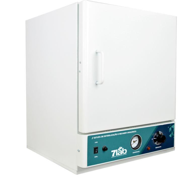 Estufa de secagem e esterilização 7Lab Analógica - 50 a 250ºC - 40 L (Bivolt)