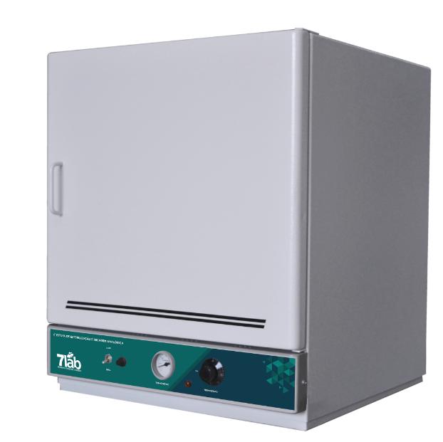 Estufa de secagem e esterilização 7Lab Analógica INOX - 50 a 250ºC - 85 L (Bivolt)