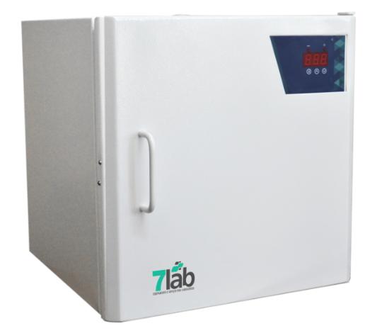 Estufa de Secagem e Esterilização Bio Easy INOX Digital 7Lab - 11 L  200°C