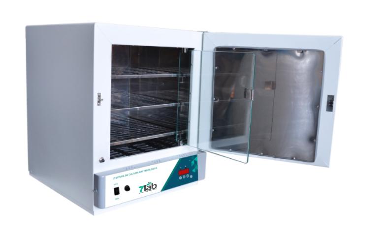 Estufa de Secagem e Esterilização Digital de Alta Precisão 7Lab INOX - 40 L – 250°C (Bivolt) com timer